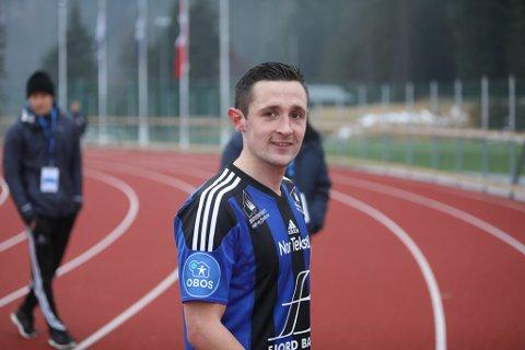 SKAL HA SJU: - Eg har eit mål om å score sju mål i år, seier Peter Aase som vart matchvinnar mot Kongsvinger.