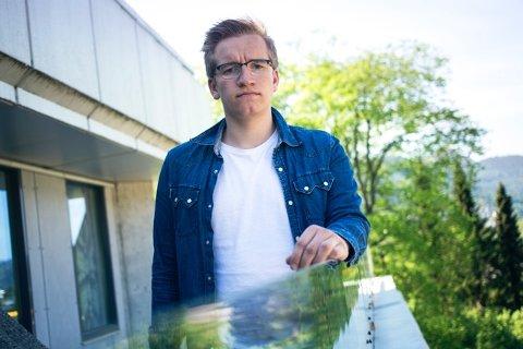 Sindre Hornnes, AUF i Sogn og Fjordane