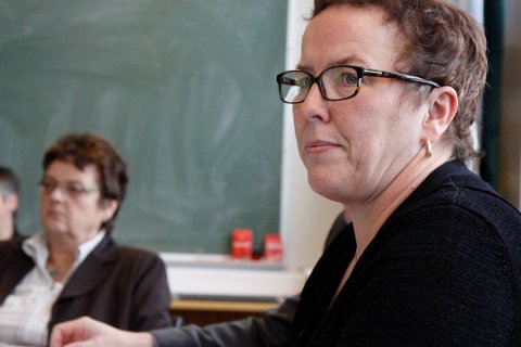 DIREKTØREN FOR DET HELE: Clara Øberg lover at Florø skal satsast på.
