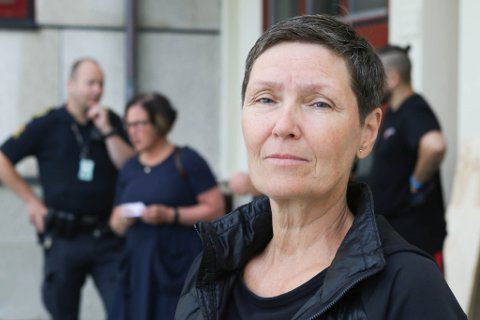 TRIST: – Dette er berre trist, seier rektor Marianne Nødset.