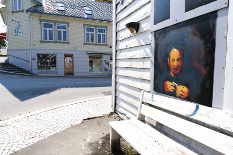 Gatekunst Florø - street art - graffiti - Knut Underli