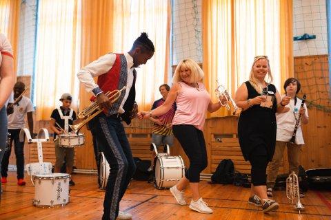 FK Field Band Fredskorpset Førde Norge Norway South Africa Sør-Afrika band korps music musikk workshop