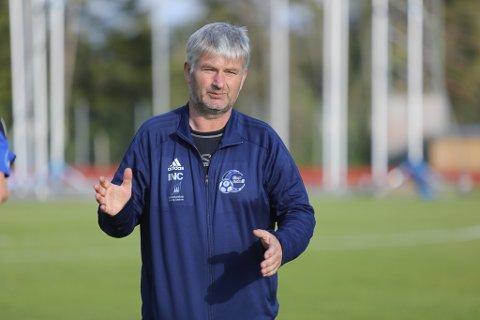 VILL IKKJE HINDRE: Terje Rognsø ville ikkje stå i vegen for ønskene til Jacob Storevik om å spele i eliteserien.