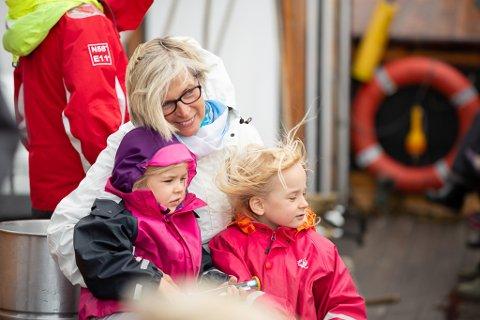 KOS: Eikefjorddagane byr på mange kjekke aktivitetar for både store og små.