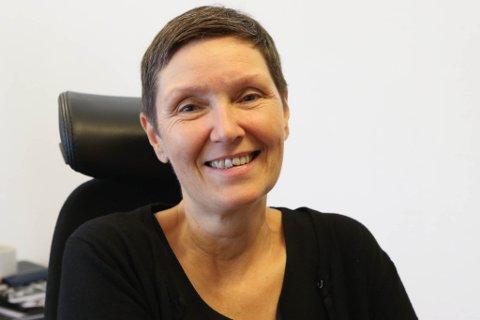GLAD: Rektor Marianne Nødset er veldig nøgd med at skulen skal få nye toalett.
