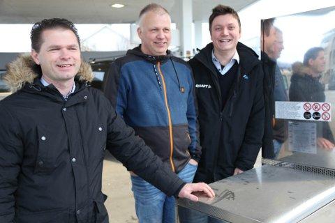 1. februar 2020 er Florø bilverksted AS oppe og går. Bak satsinga står Clas Nordal, Stian Tjøtta og Geir Sandvik