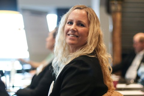 HYDROGENSJEF: Kristin Svardal (39) er prosjektleiar for Hyway Ocean Cluster.