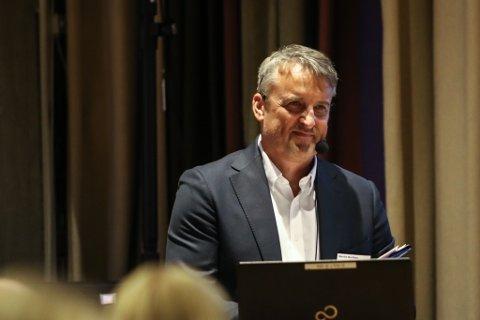 NEPTUNE: Driftsdirektør Martin Borthne i Neptune Energy AS lova mykje spennande frå deira sida i åra som kjem. Snart går dei mellom anna i gang med sju ulike leitebrønnar på sokkelen.