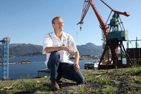 Gustav Johan Nydal, ordførarkandidat for Kristeleg Folkeparti i Flora. Han ønskjer fokus på næringsutvikling.