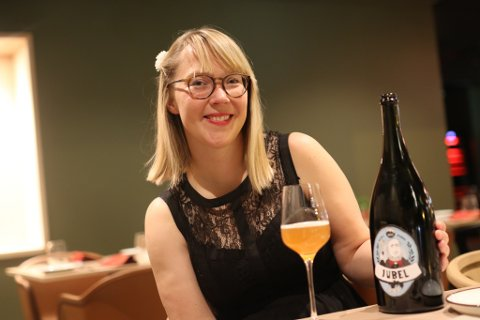 Oda Valle har vore Kinn Bryggeri sin faste illustratør sidan starten.