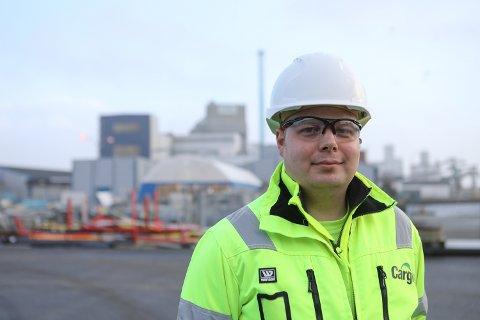 Tor-Erik Røynesdal, fabrikksjef Ewos i Florø.