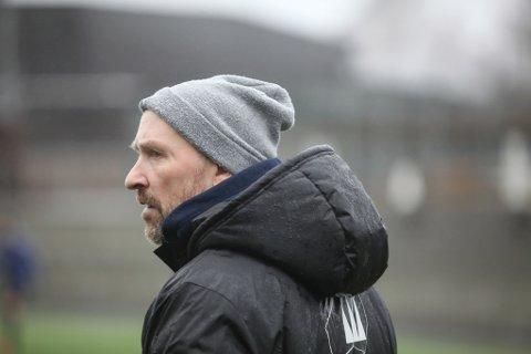 Frode Nybø, trenar i Florø Fotball.