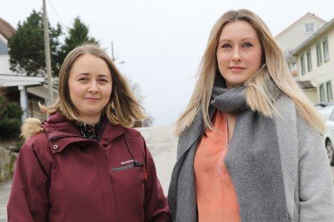 Elizabeth Michelle Kristiansen Notø og Sunniva Solheim