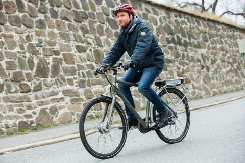 EKSTRA UTSETT: Kvar fjerde sykkel som blir stolen no, er ein elsykkel.