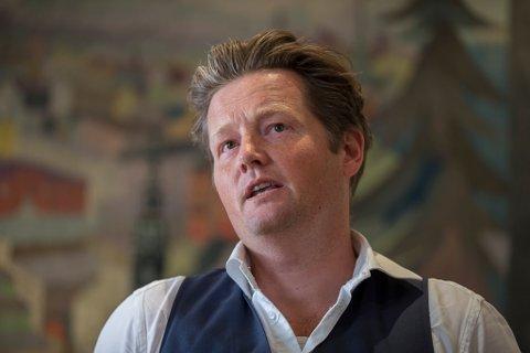 Lektor Simon Malkenes får varsler  og ytringsfrihetsprisen Stockmanns Hammer. Foto: Vidar Ruud / NTB scanpix
