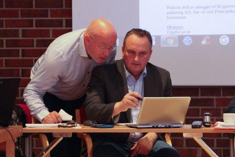 Rolf Bjarne Sund og Terje Heggheim.