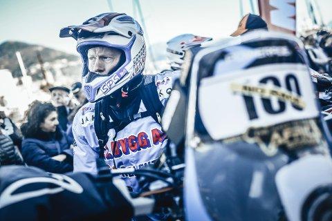 ENDURO: Enduro- og rallyførar Pål Anders Ullevålsæter er ein av to føredragshaldarar under Våt Moro.