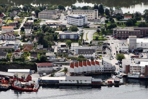 Flora kommune vil bygge ny brannstasjon på Kringleskjæret ved Miljøhuset.
