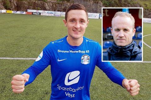 PRAKTMÅL: Peter Aase scora eit praktmål mot Elverum og hjalp gamleklubben. Trenar Tommy Knarvik var mindre blid, han blei sende på tribuna og kampen enda 1-1.