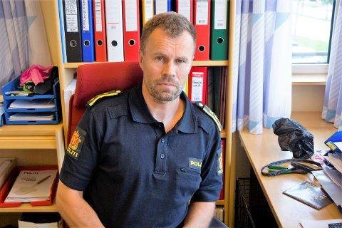 BEKLAGER: Regionlensmann for Sunnfjord, Dag Fiske er klar på at det skjedde ein glipp då operasjonssentralen vart kontakta natt til søndag i førre veke.