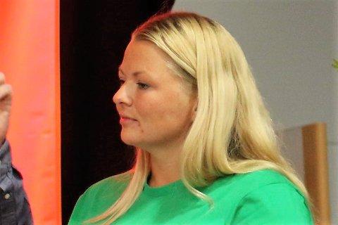 FÅR SELSKAP: Finteljinga i Kinn kommune har gitt Marie Øverås Jensen selskap i bystyret. SV er no inne med to mandat.