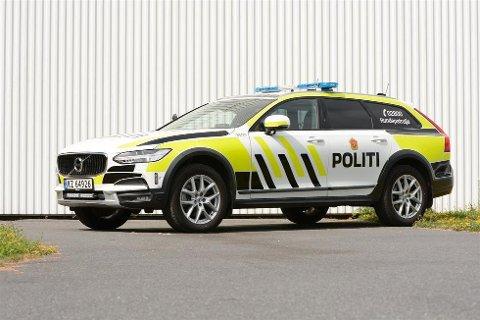 LITEN PATRULJEBIL: Denne biltypen Volvo V90CC skal nyttast som liten patruljebil av Politiet i den neste sjuårsperioden.