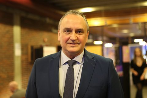 Kommunedirektør i Kinn kommune, Terje Heggheim.