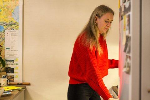 VIKTIG: Alle, uansett kva ein driv med og kvar ein er i livet, bør utforske og dyrke dei kreative sidene sine, meiner kunststudent Elisabeth Fure Schwarz frå Florø.