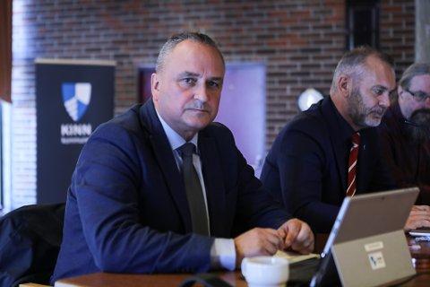 Kommunedirektør Terje Heggheim