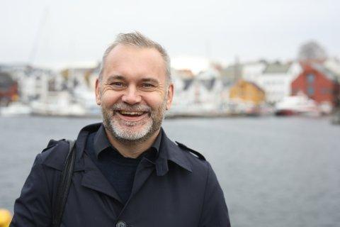 NØGD: - Ja no er eg veldig nøgd med mitt eige parti, seier Ola Teigen, ordførar i Kinn kommune (Ap)