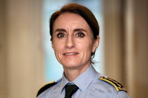 FRÅ fØRDE: Ane Kvaal blei av Kongen i statsråd i dag peika ut som ny visepolitimeister i Vest politidistrikt.