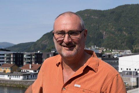 NY PLANSJEF: Øyvind Bang-Olsen  er tilsett som ny plansjef i KInn kommune.