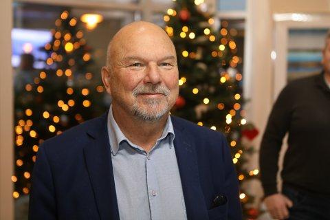 JULESTRIDA KOM TIDLEG:  Konserndirektør i INC, Geir Johannesen har sendt 40.000 laksesmolt på juleferie på Stord.