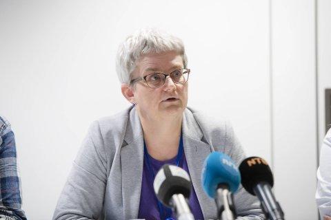 Brita Øygard er egentlig etatsdirektør, men jobber for tiden som kommuneoverlege og smittevernoverlege i Bergen. Alle andre ansatte på kommunelegens kontor har sluttet.