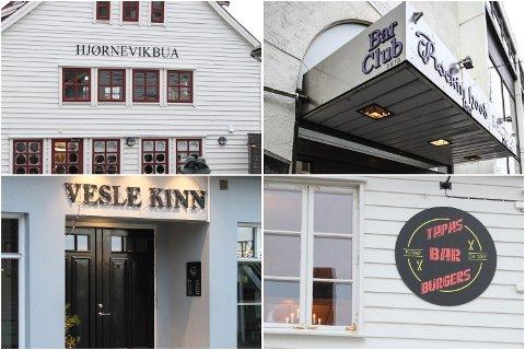OPE, MEN...: Fleire av stadane som har ope nyttårsaftan sel billettar til sitt arrangement, mellom anna gjeld det både Centrum Bar og Tapas Bar Burgers.