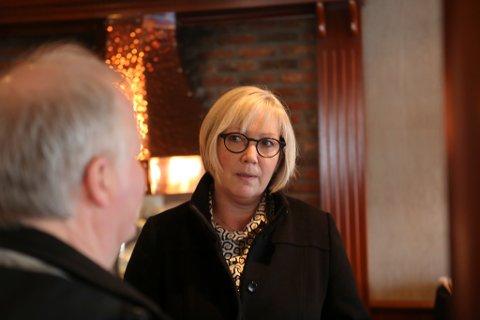 TAKKAR AV: Askvollingen Frida Melvær har varsla at ho ikkje tek attval til Stortinget.