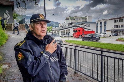 UP-SJEF: Einar Vereide er Vest politidistrikt sin Up-sjef i Sogn og Fjordane politidistrikt.