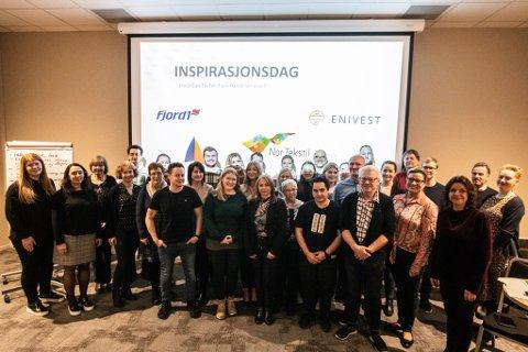 INSPIRASJONSDAG: Laurdag var tilsette frå dei fire største selskapa i Florø samla til inspirasjons- og fagdag om kundeservice.