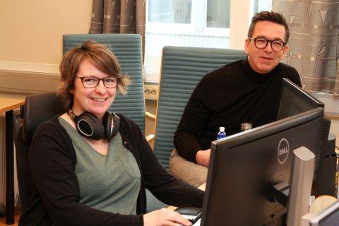 Line Træen, fagsjef HMSK og Ole Martin Frimannslund, marknadssjef hotell, NorTekstil er del av krisestaben. Alle dei 25 vaskeria i konsernet rapporterer til leiinga i Florø.
