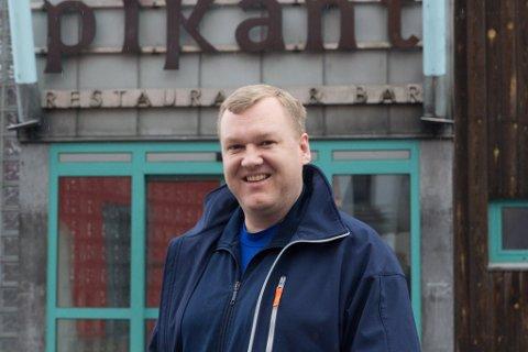 PIKANT: Per Otto Huseklepp har no bestemt seg for å bruke ein lokal ølleverandør for Pikant.