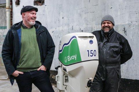 NYE PÅ LAGET: Sten Inge Hellevang, Leif Stavøstrand og resten av Evoy-gjengen er på nytt på jakt etter fleire kollegaer.
