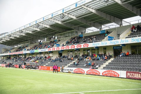 MILLIONGÅVE: Milliardæren Trond Mohn bidrog med ei gåve på over tre millionar kroner til Sogndal Fotball i 2019. Det førte til at tala blei grøne i staden for raude.