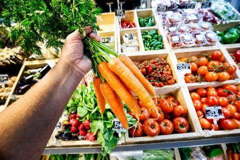 Oslo, Norway 20150714. Illustrasjonsbilder: Frukt og grønnsaker. Foto: Gorm Kallestad / NTB scanpix