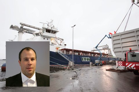 KONTINUITET: Thomas Lekva har jobba med desse båtane også under reiarlaget Artic Shipping.