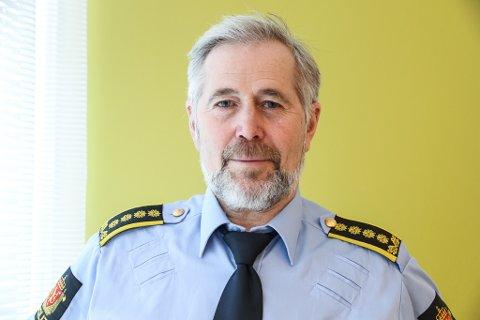 SNART 17.MAI: Arne Johannessen er politisjef i Sogn og Fjordane. Han oppmodar folk om å ta del i feiringa av nasjonaldagen, men at ein følgjer retningslinjene frå myndigheitene.
