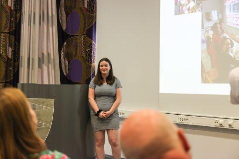 STORFINT BESØK: Anette Kent Vågene fortalde om Prosjekt Malawi UB for bistandsministaren