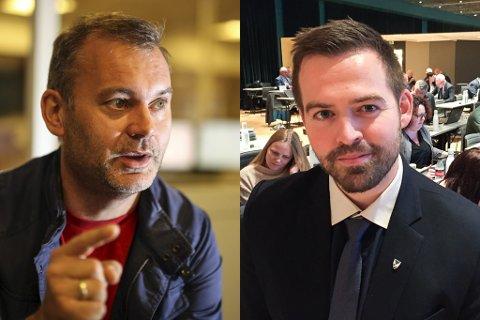 KLAR: Ola Teigen meiner Torbjørn Vereide er klar for Stortinget. Vereide takkar for støtta og stiller om partiet vil ha han