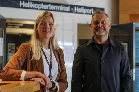 UAKSEPTABELT: Equinorsjefen i Florø Kari Bjørbæk må sjå seg om etter alternativ om flyrutene på Florø blir redusert 1. oktober. Ordførar Ola Teigen meiner rutetilbodet er uakseptabelt og har tatt dette opp med departement og statsråd.
