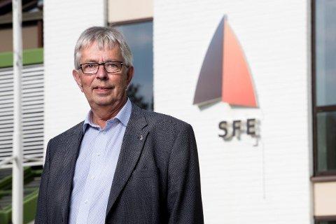 SFE KRAFT: – Straumen går kortaste veg, så det er ingen som kan garantere for at det ikkje er vindkraft som kjem i veggen din, presiserer direktør Bjarne Dybvik i SFE Kraft.