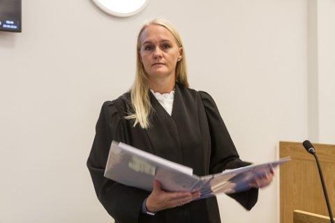 Kristine Herrebrøden, aktor i rettsaka om drapet i Florø i 2019.